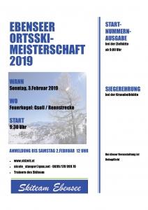 Ortsmeisterschaft @ Feuerkogel | Ebensee | Oberösterreich | Österreich
